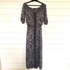 White House Black Market Boho Maxi Dress